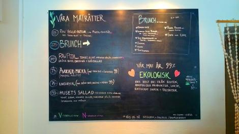 Rawfoodbaren menu