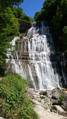 Herisson waterfall